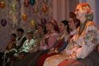 Юбилейный концерт, посвященный 10-летию мастерской «Лад» (2007 г.). На сцене НОККиИ выпускники и учащиеся мастерской